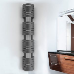Anthracite Designer Radiator Lifestyle