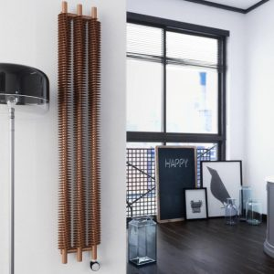 Copper Designer Radiator Lifestyle
