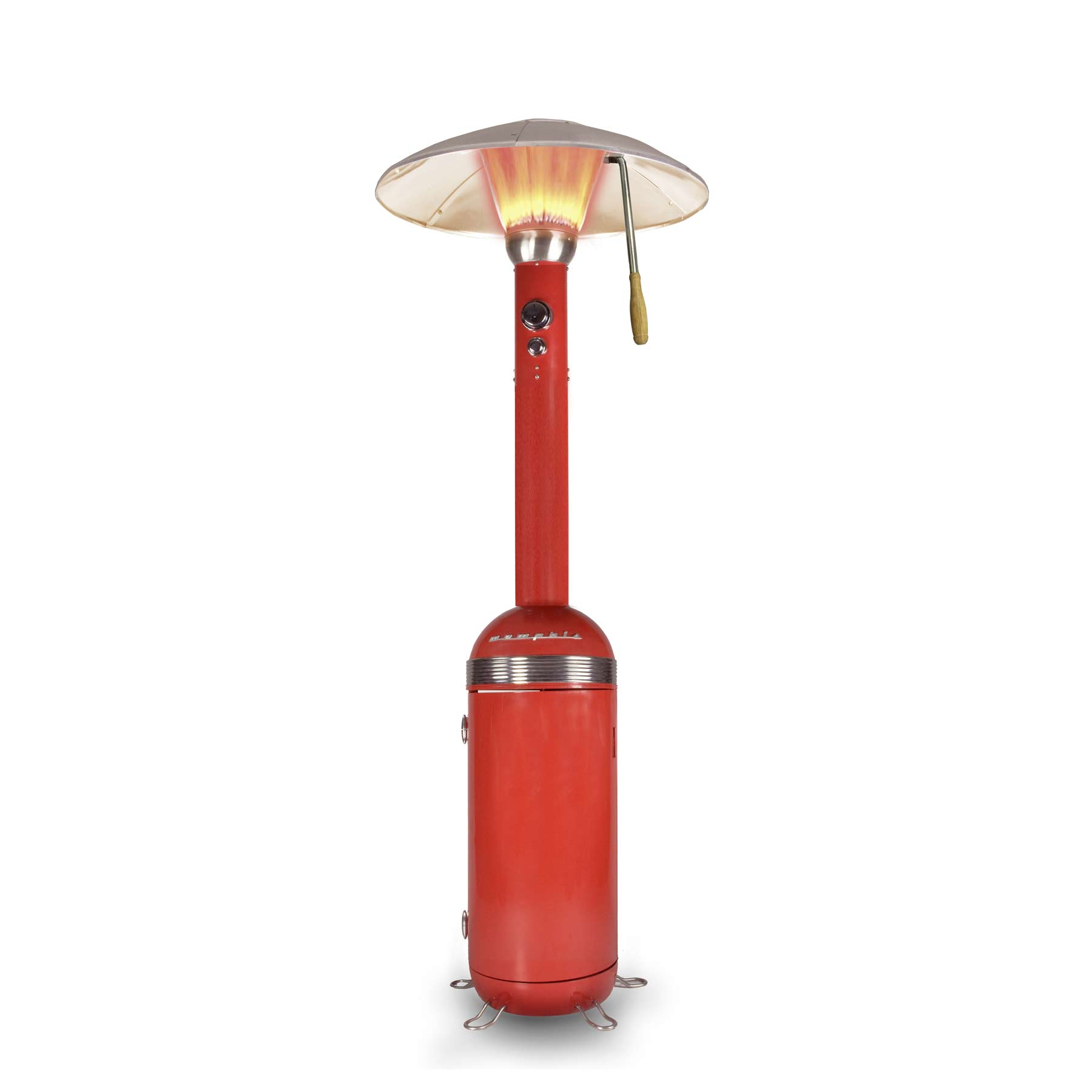 Memphis Heat Focus Patio Heater Red 13kW