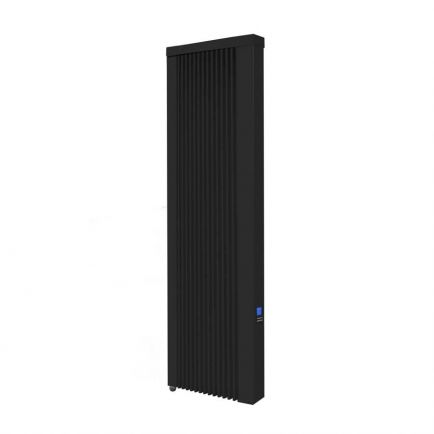 Ecostrad Ecowärme Vertical Electric Radiator - Anthracite 1000w