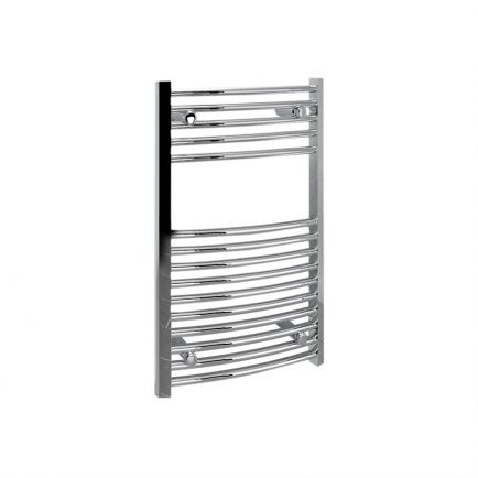Ecostrad Fina Towel Rails – Curved Chrome 500mm