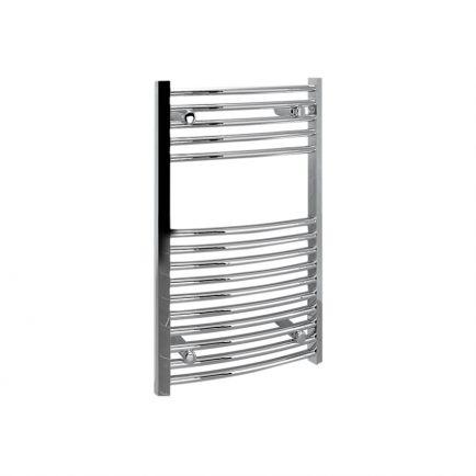 Ecostrad Fina Towel Rails – Curved Chrome 500mm