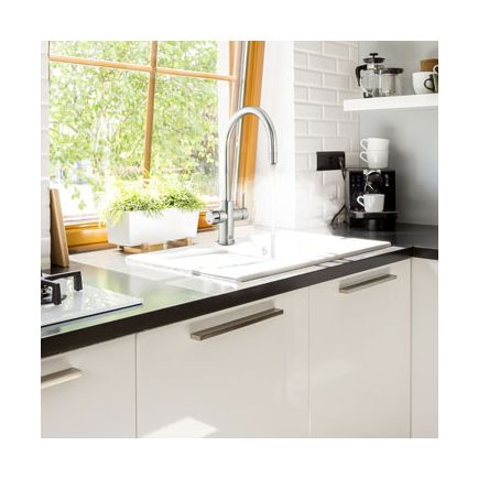 Zip Hydrotap Celsius Arc 3 in 1 Filtered Boiling Water Tap - Brushed Chrome