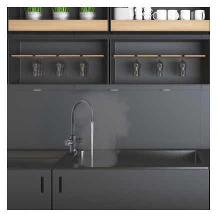 Zip Hydrotap Celsius Arc 3 in 1 Filtered Boiling Water Tap - Matt Black