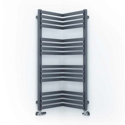 Terma Incorner Designer Towel Rails - Modern Grey
