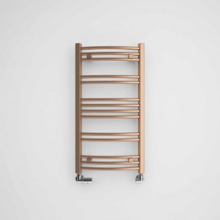 Terma Jade Designer Towel Rails - Old Copper
