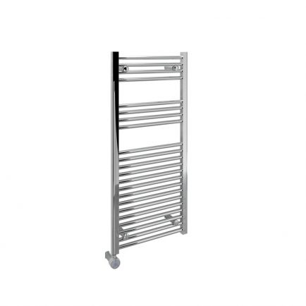 Ecostrad Fina-E Thermostatic Electric Towel Rail - Chrome 300w (500 x 1100mm)