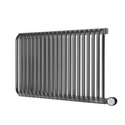 Terma Delfin E Designer Electric Radiators - Anthracite