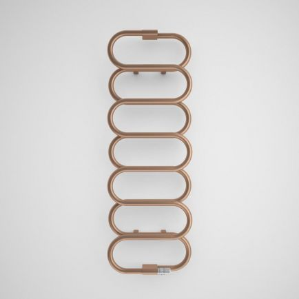 Terma Ouse Designer Towel Rail - Old Copper