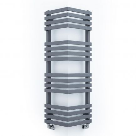 Terma Outcorner Designer Towel Rails - Modern Grey