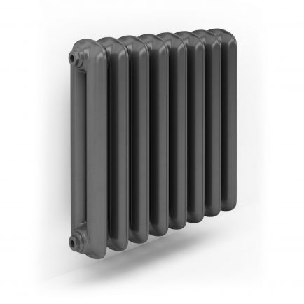 Terma Plain Designer Radiator - Raw Metal (1098 x 620mm)