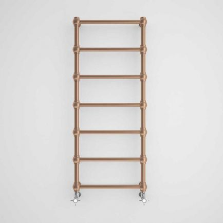 Terma Retro Traditional Designer Towel Rail - Old Copper