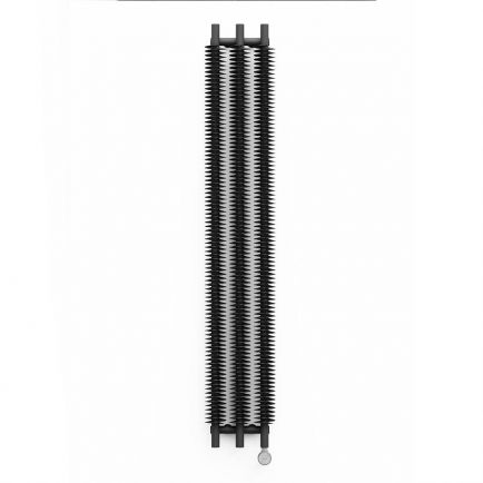 Terma Ribbon V E Designer Electric Radiator - Grey