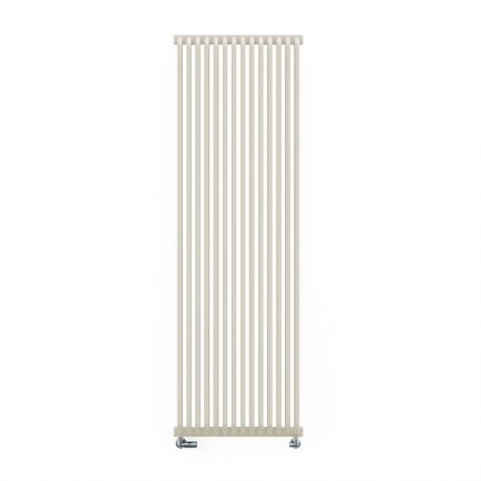 Terma Delfin Vertical Designer Radiators - Soft White