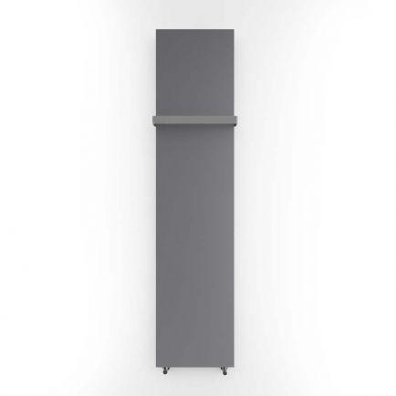 Terma Case Slim Flat Panel Designer Radiator - Storm Sky