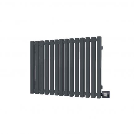 Terma Triga E Designer Electric Radiators - Anthracite