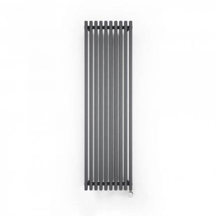 Terma Tune E Vertical Designer Electric Radiators - Anthracite