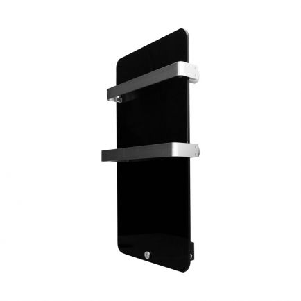 Ecostrad Magnum Heated Electric Towel Rail - Black 400W (480 x 840mm)