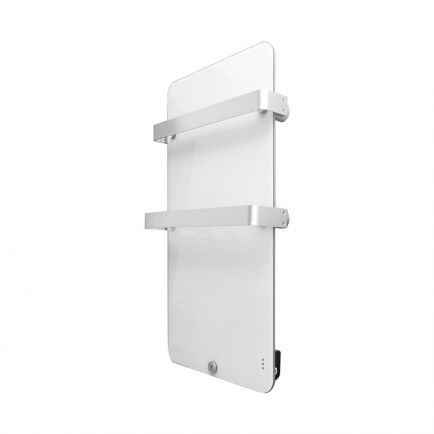 Ecostrad Magnum Heated Electric Towel Rail - White 400w (480 x 840mm)