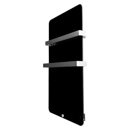 Ecostrad Magnum Heated Electric Towel Rail - Black 600w (580 x 1090mm)