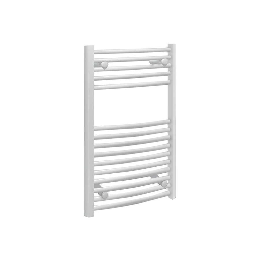 Fina Towel Rails - Curved White
